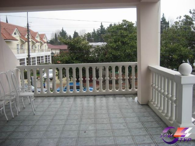 Гостевой дом «Грант», веранда между этажами